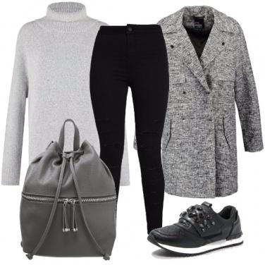 Outfit In facoltà con comodità