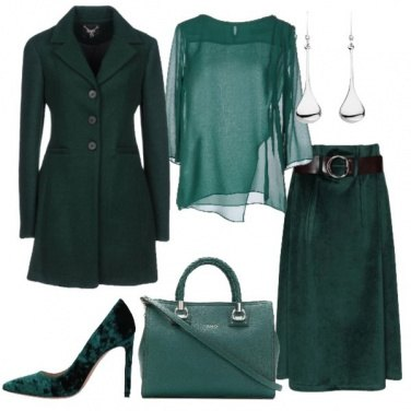 Outfit Solo verde