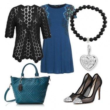 Outfit Abito blue Desigual