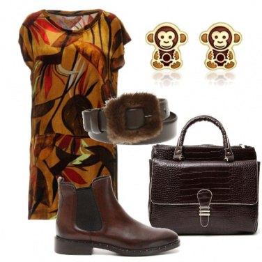 Outfit Energia color caffè