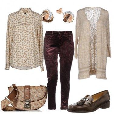 Outfit Un caffè macchiato