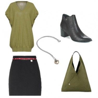 Outfit Verdesalvia#militare