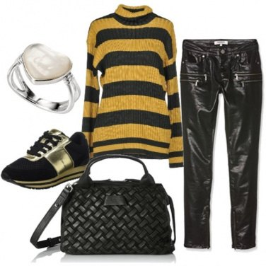 Outfit Il maglione morbidoso