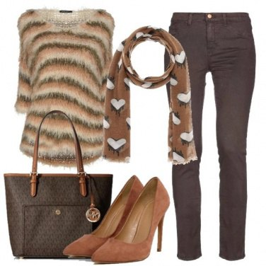 Outfit Righe d\'autunno