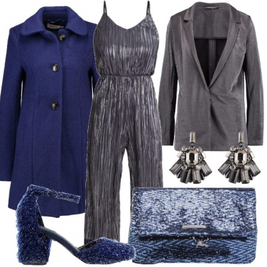 Outfit Blu siderale