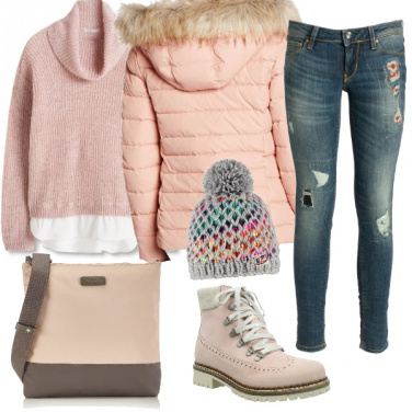 Outfit Rosa di montagna