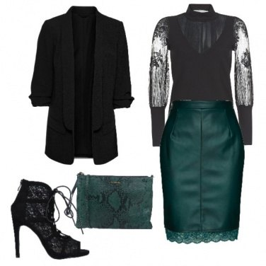 Outfit Trasparenze per un look sexy