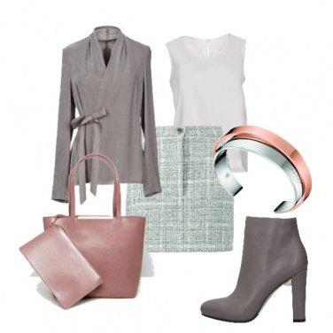Outfit Tortora e colori pastello
