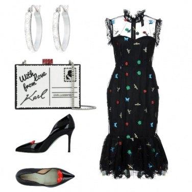 Outfit Romantica e pop