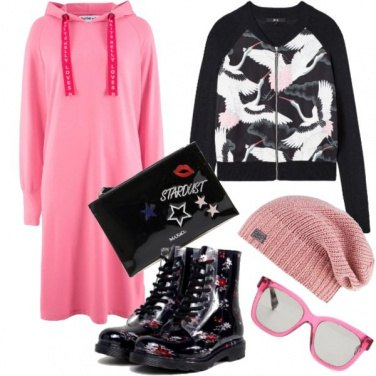 Outfit Urban in Candy Pink
