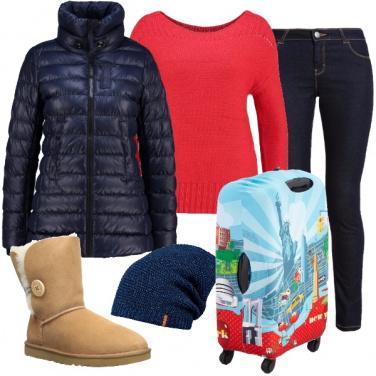 Outfit Amica appassionata di viaggi