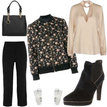 Outfit Fiori in autunno