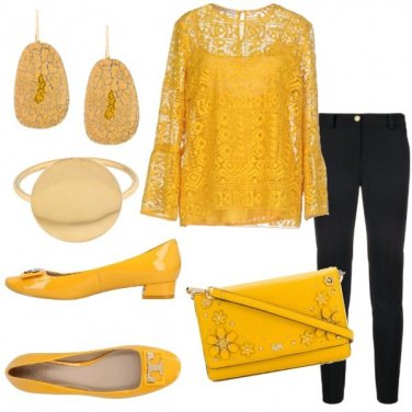 Outfit Yellow Fantasy