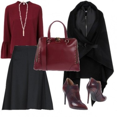 Outfit Autunno glamour..