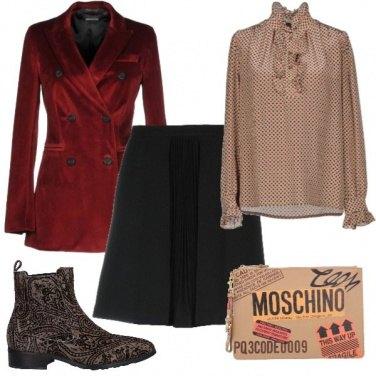 Outfit Velvet Vintage