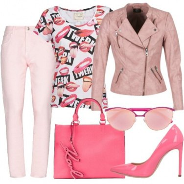 Outfit Vedo rosa