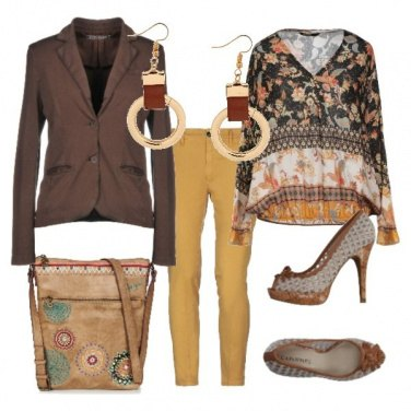 Outfit Camicia floreale