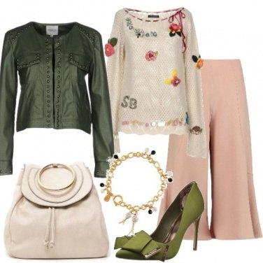 Outfit Romantica in fiore
