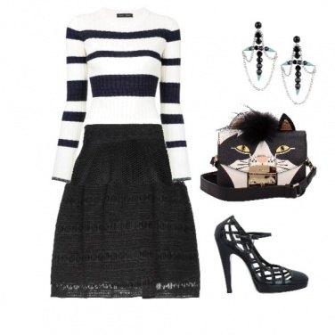 Outfit E la borsa gatto