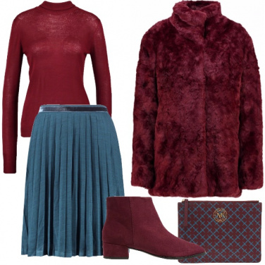 Outfit Compleanno d\'inverno