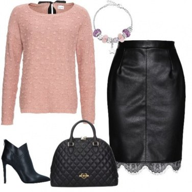 Outfit Pelle confetto