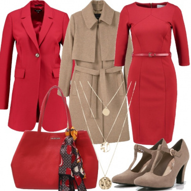 Outfit Chic per gli auguri con il capo