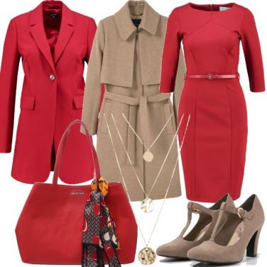 Outfit Chic per gli auguri con ill capo