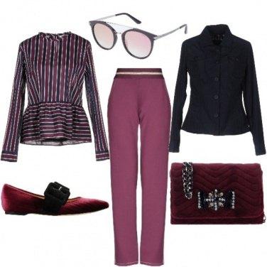 Outfit Proporzioni lineari