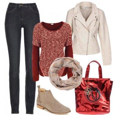 Outfit Borsa Armani Jeans