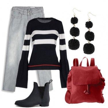 Outfit La sottile linea rossa