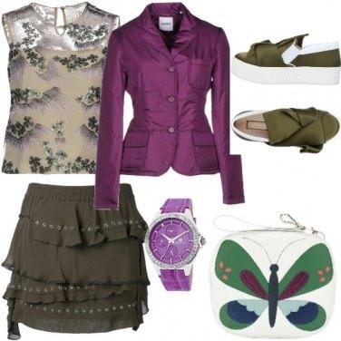 Outfit La borsa con la farfalla