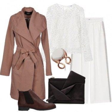 Outfit Caffè e latte