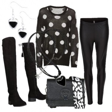 Outfit B&W basic