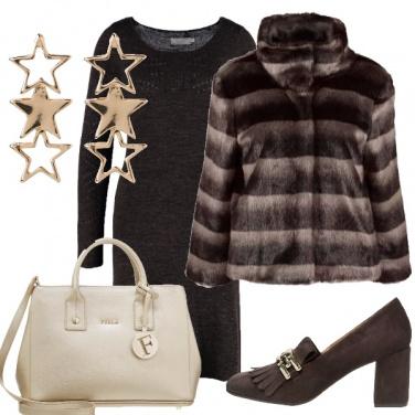 Outfit Passeggiata natalizia