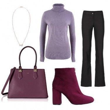 Outfit Caldo e colorato