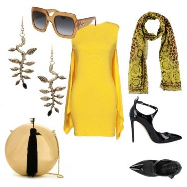 Outfit Aperitivo in giallo