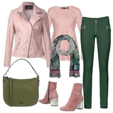 Outfit TSK Serata rosa