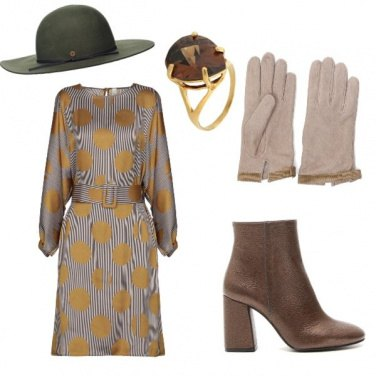 Outfit Giochi color coffee