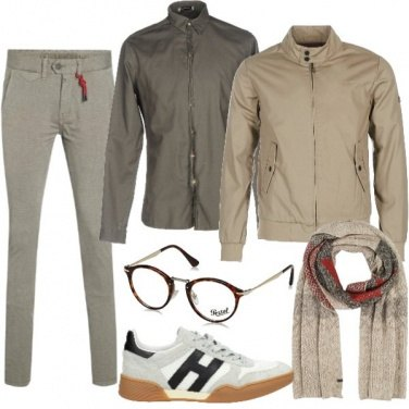 Outfit Beige spinato