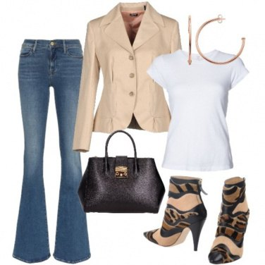 Outfit Eleganza in jeans