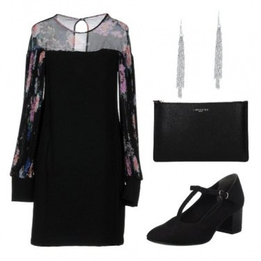 Outfit Floral black