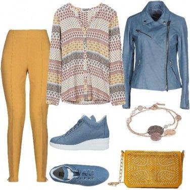 Outfit Contrasti di colore