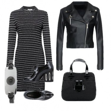 Outfit Black mom amour
