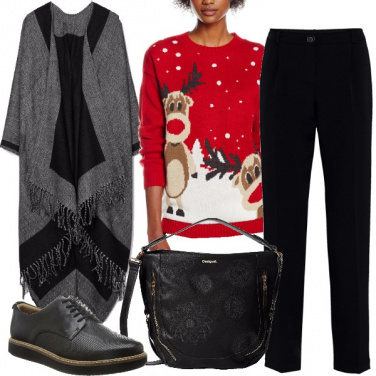 Outfit Natale in baita