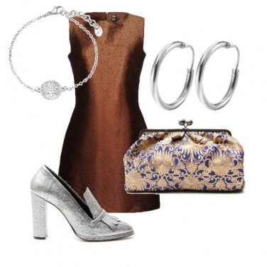 Outfit Terra argento