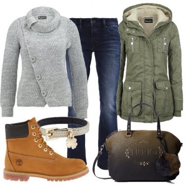 Outfit Casual invernale