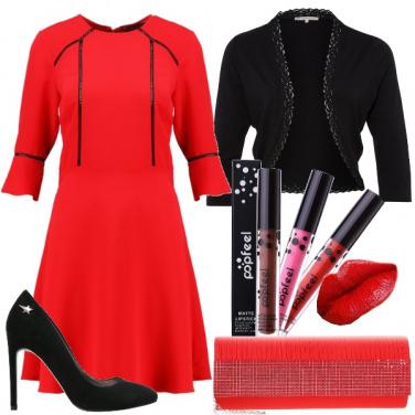 Outfit Labbra in primo piano