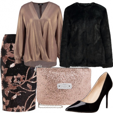 Outfit Regali d\'oro
