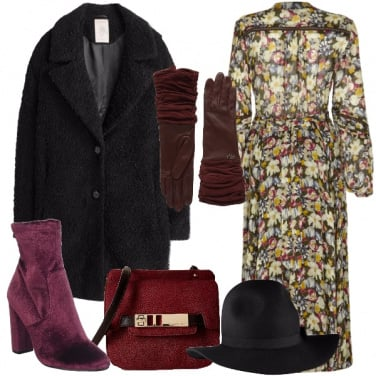 Outfit Svolazzando in città