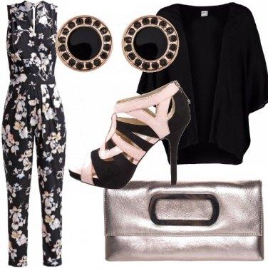 Outfit Tutina a fiori super glam